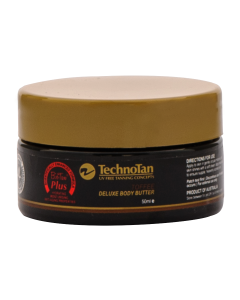 TECHNOTAN 'DELUXE' BODY BUTTER - TOFFEE 200ml