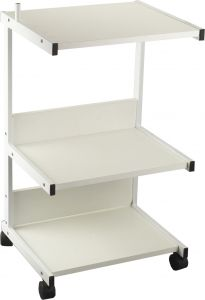 TROLLEY- MELTECA STYLE- 3 SHELVES- LGE
