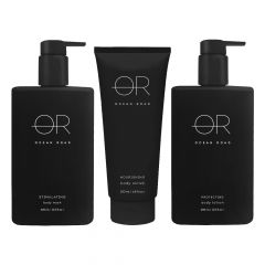 OCEAN RD BLACK GIFT PACK BODY 3 PIECE
