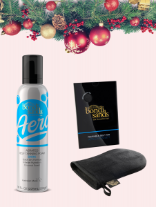 XMAS DEALS 2020-BS TANNING PACK- AERO FOAM
