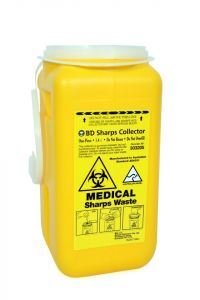 SHARPS CONTAINER 1.4L (YELLOW)
