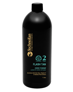 FLASHTAN 2HR MED 1L (CHOC FUDGE)