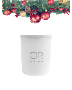 OCEAN ROAD CANDLE (50HR) - WHITE