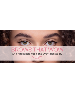 ARROW BEAUTY BROWS THAT WOW EVENT-20TH SEPT