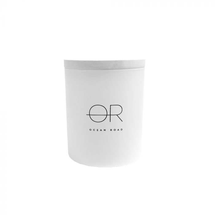 OCEAN RD WHITE SOY WAX CANDLE 380GM