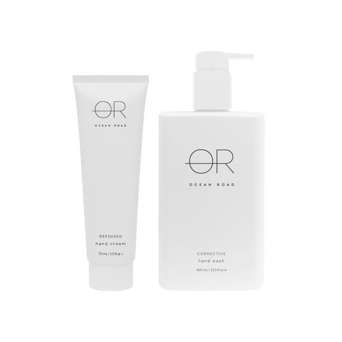 OCEAN RD WHITE GIFT PACK HAND 2 PIECE